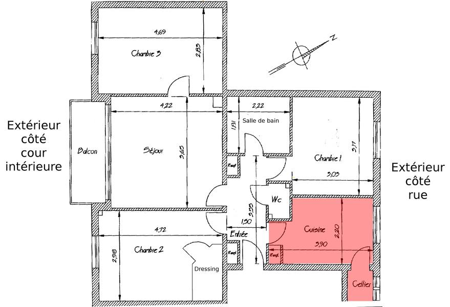 plan appartement 72m2